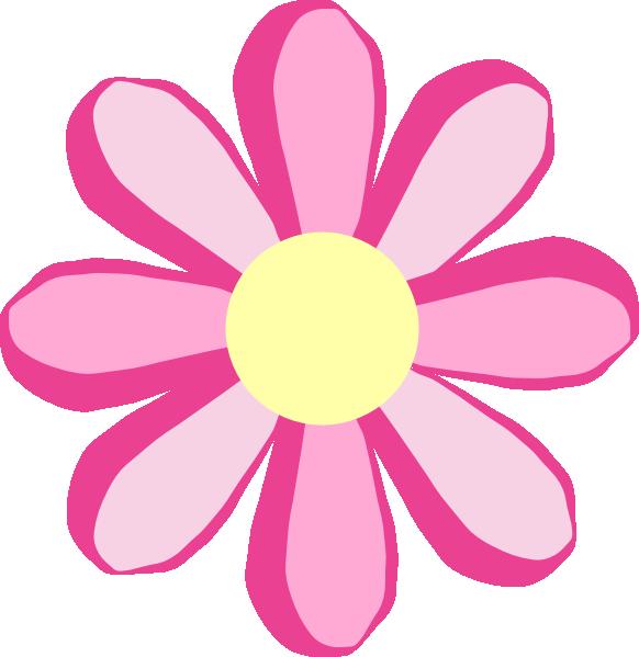 Flowers Cute Flower Blue Clip Art Vector - InspiriToo. - ClipArt