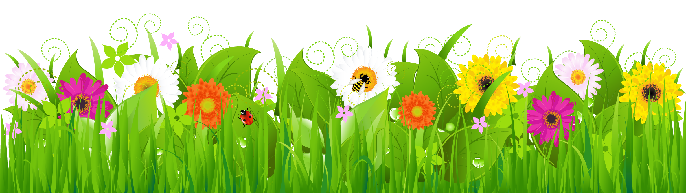 Flowers free clip art grass clipart clipartbold clipartall