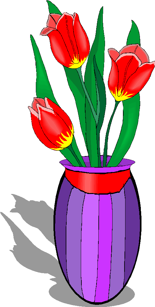 Flowers In A Vase Clipart Clipart Panda Free Clipart Images