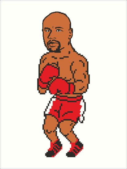 8bit Floyd Mayweather, Jr. by Gee1982