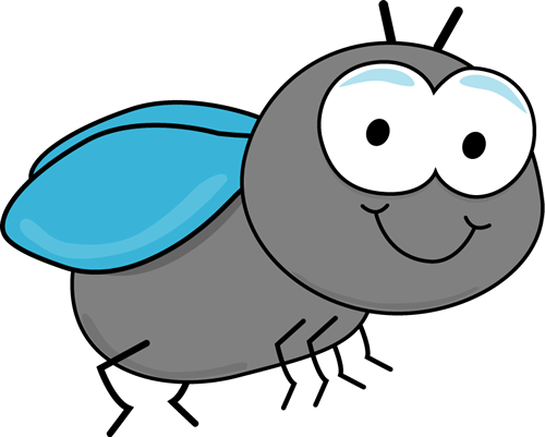 Cartoon Fly Clipart #1