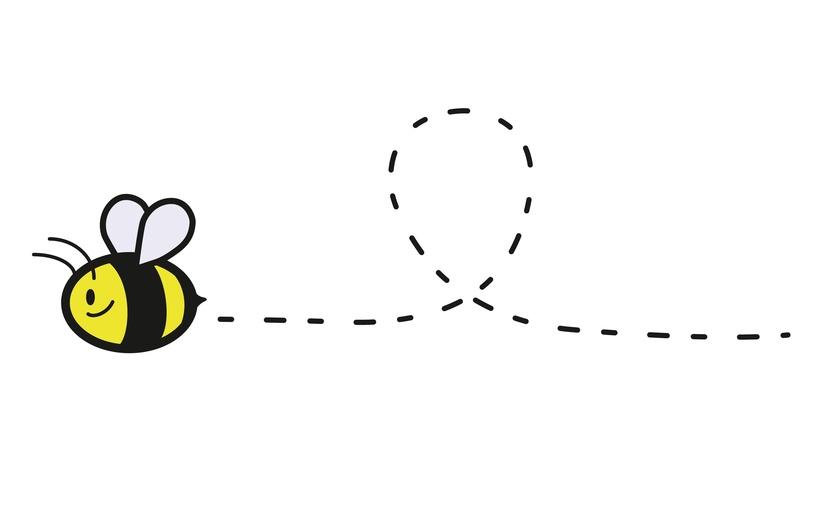 Flying Bee Clip Art