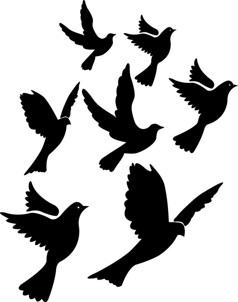 Bird Silhouette Tattoo Design - ClipArt Best