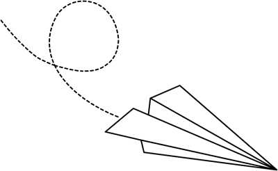Flying Paper Airplane Clipart Paper Airplane With Flying