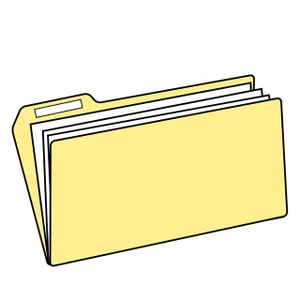 Folder Clipart Image: File Folder