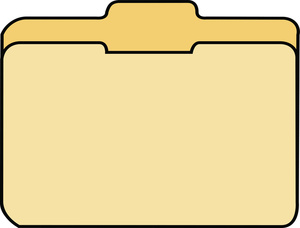 Free Folder Clipart #1
