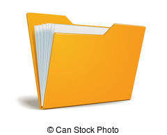 . hdclipartall.com Vector folder with documents