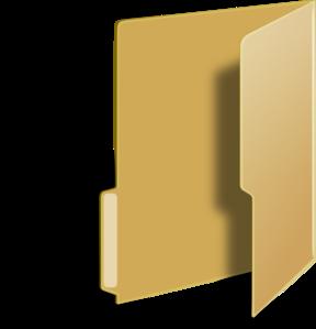 Vista Style Folder Clip Art