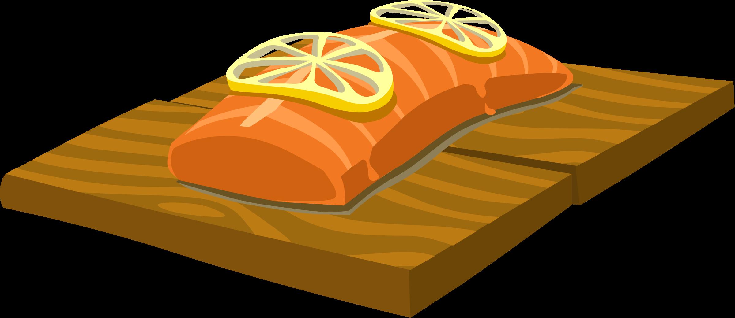 Food Cedar Plank Salmon By Glitch