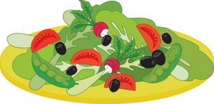 Food Clipart Image Mixed Salad u0026middot; «