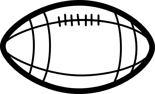 Football Black And White American Football Clipart Black And White Free