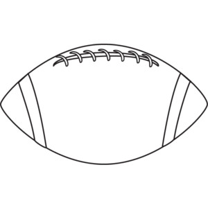 Football black and white football clipart black and white free clipart