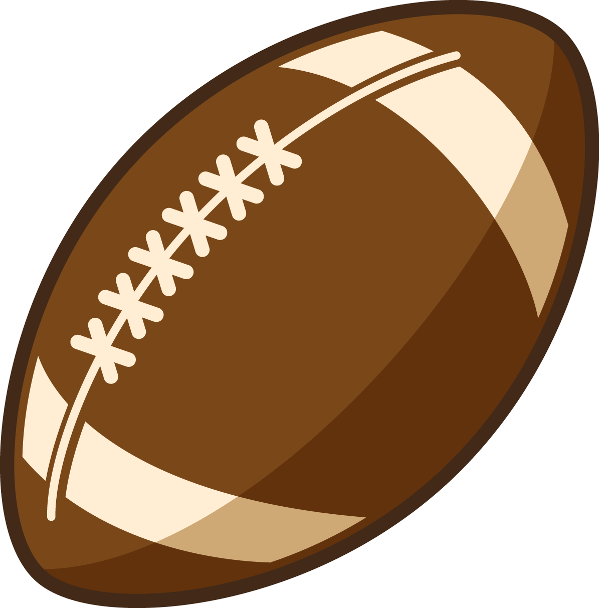 You are free to use this American football clip art on your sports  projects, magazines, e-books, presentations, blogs, videos, etc. Use this clip  art on ClipartLook.com