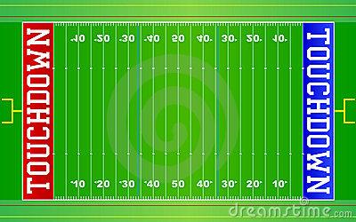 Football Field Background .