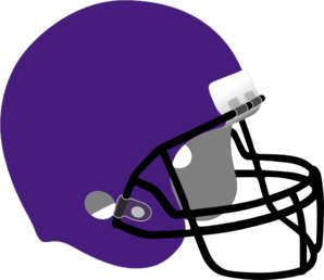 Purple Football Helmet Clip Art