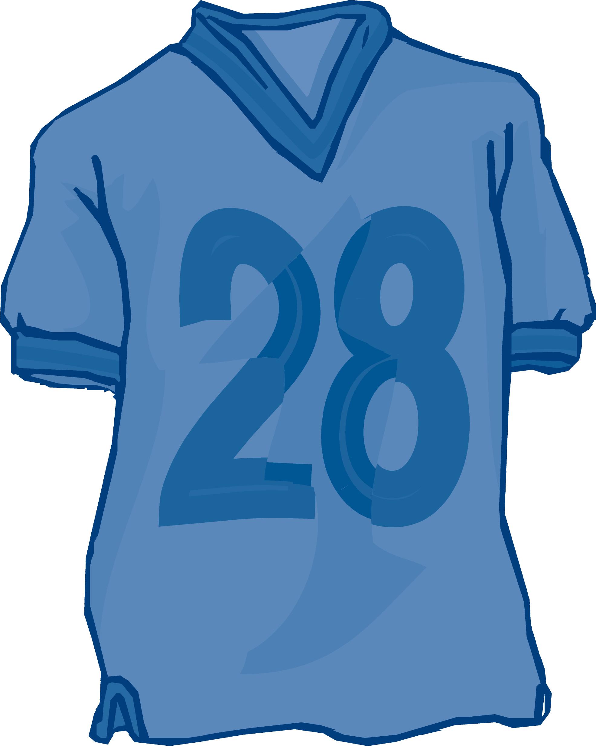 Football Jersey Clipart. Clothes Closet Clipart .