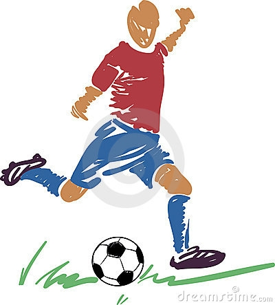 Soccer clipart english football player #7