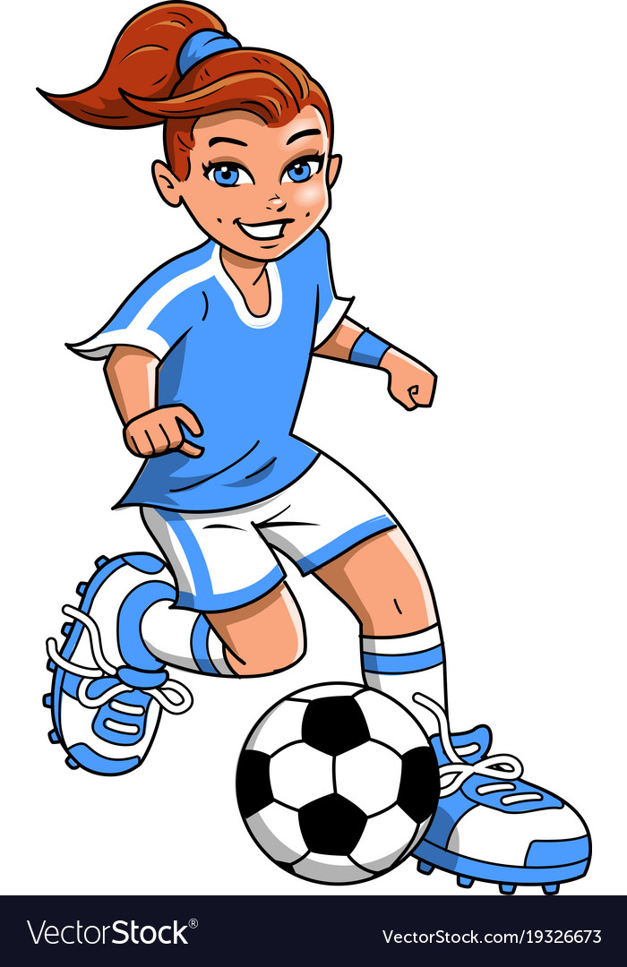 Footballer Clipart-Clipartlook.com-700