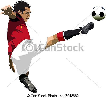 footballer - csp7048882