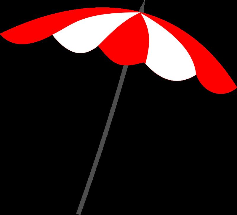 For A Beach Umbrella Clip Art You Can Use This Simple Beach Umbrella