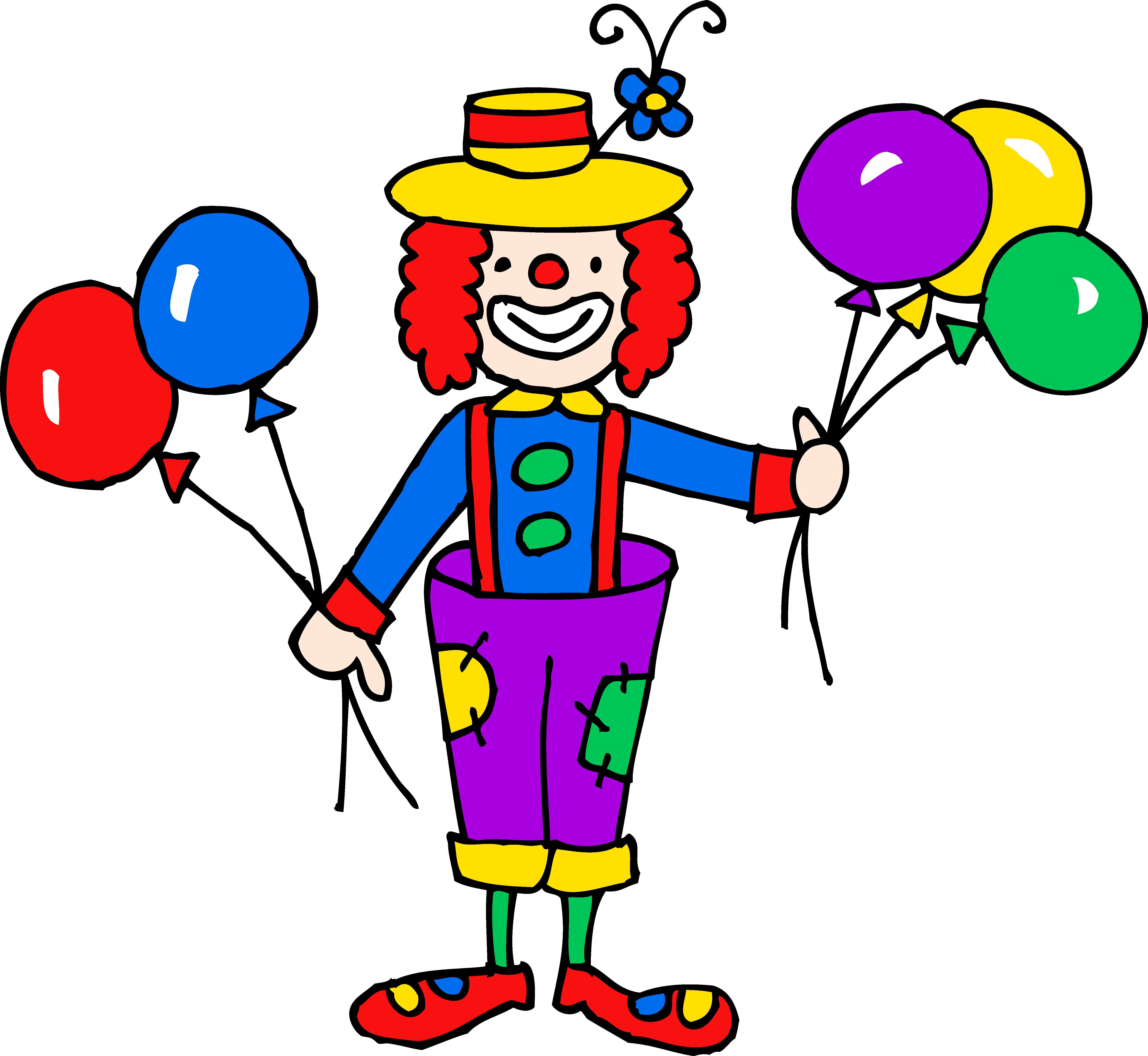 For Circus Clown Clipart .