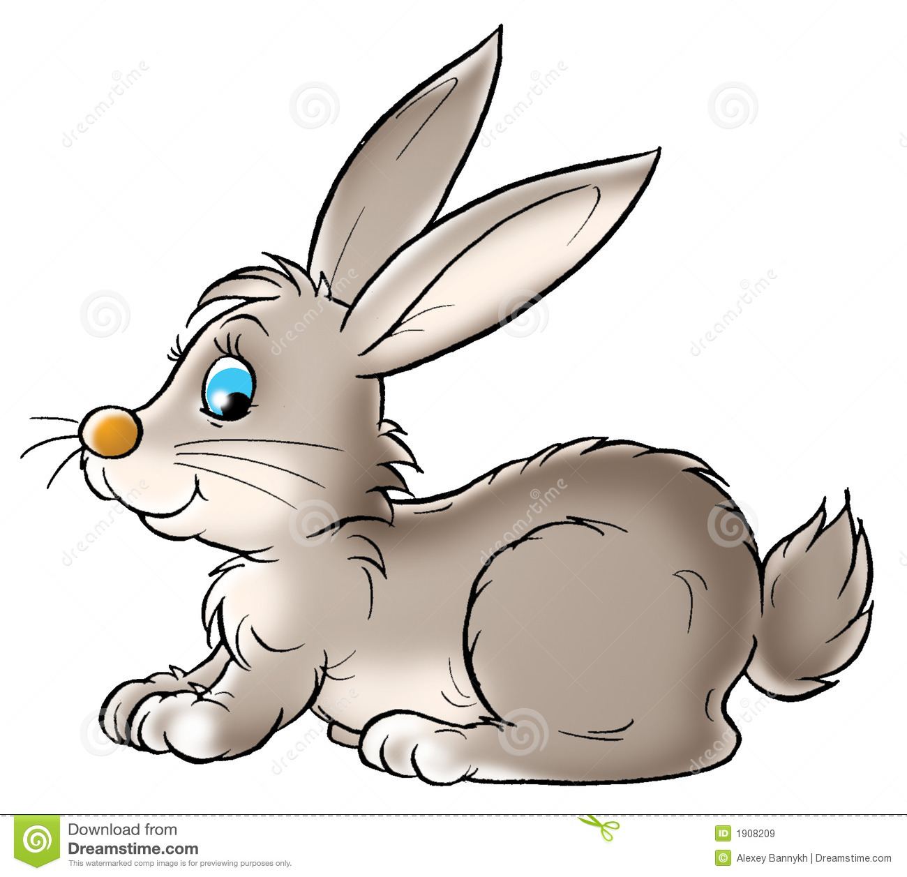 For Cute Bunny Clipart .