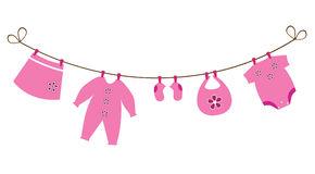 for newborn girl clip art
