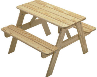 for picnic table on Etsy .
