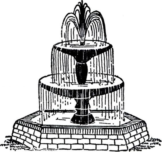 Fountain Clipart   Free .