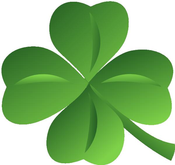 Four Leaf Clover Clip Art At Clker Com Vector Clip Art Online