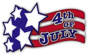 Fourth Of July clip art - July 4th Free Clip Art