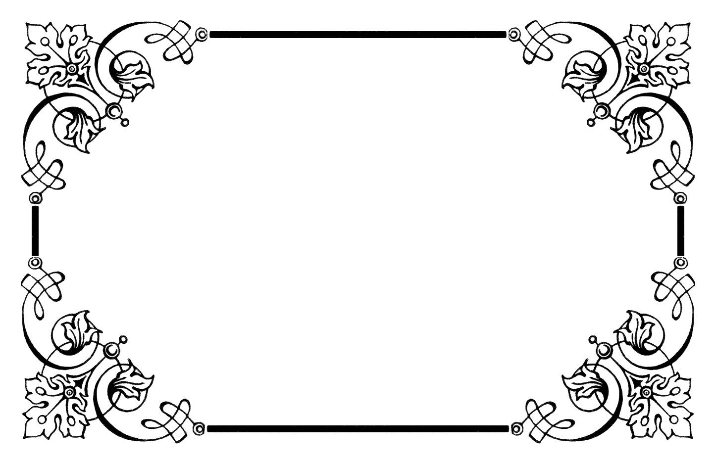 Frame Clip Art u0026middot; free border clipart