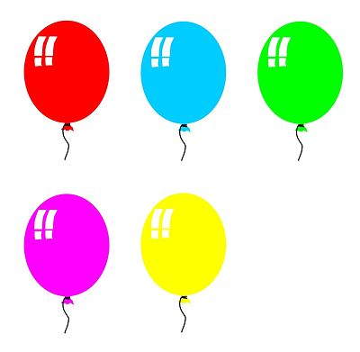 free birthday balloon clip art