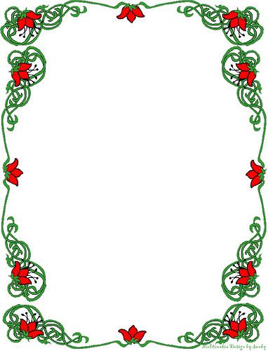 Free Christmas Clipart Borders Printable Christmas Borders Printable Clip Art Images Hdclipartall