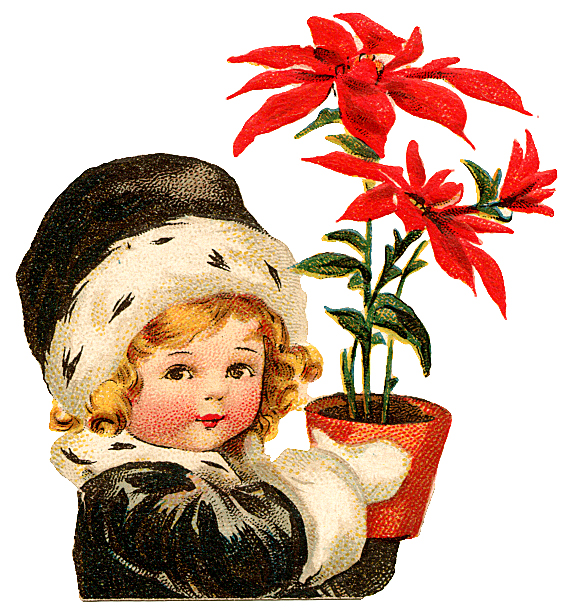 free vintage christmas clip art