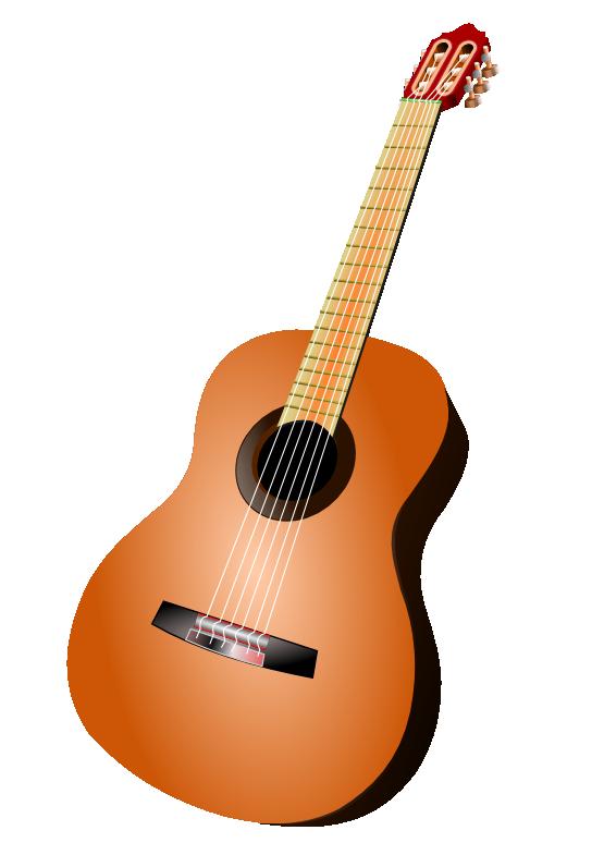 Free Acoustic Guitar Clip Art