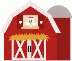 Free barn clipart. Barn fazendinha on cute cows silhouette store and cliparts