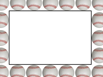 Free Baseball Border Free Cliparts That You Can Download To You
