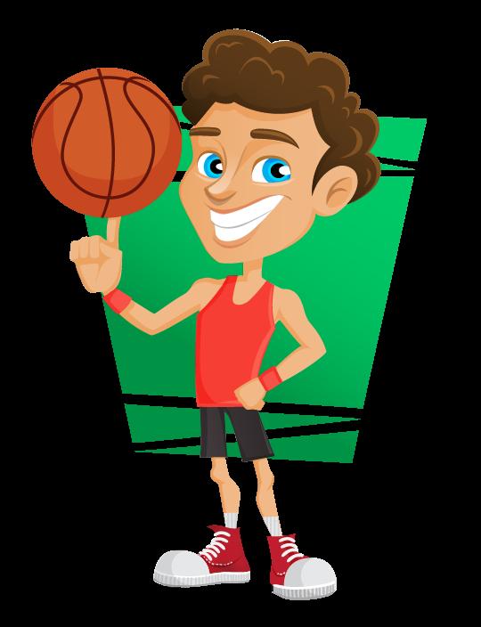 Free Basketball Player Clip Art