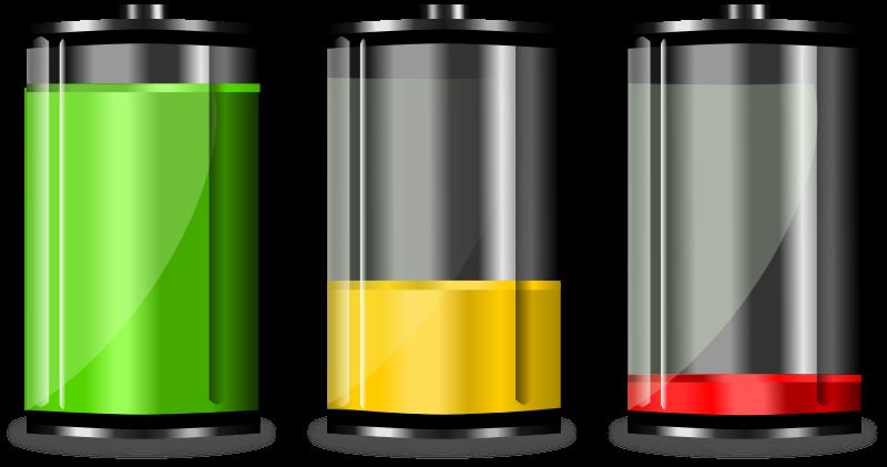 Free Battery Levels Clip Art