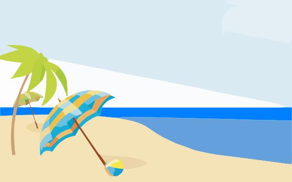 Free beach background clipart - ClipartFox