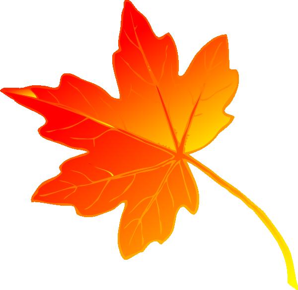 Free Beautiful Maple Leaf Clip Art