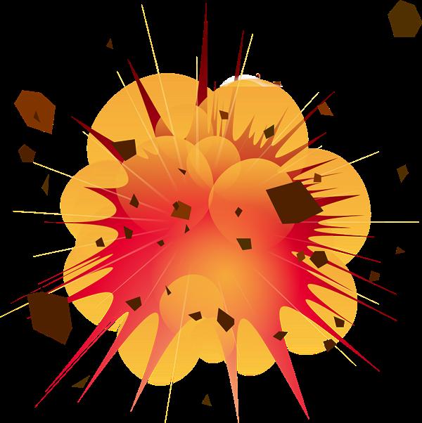 Free Big Explosion Clip Art