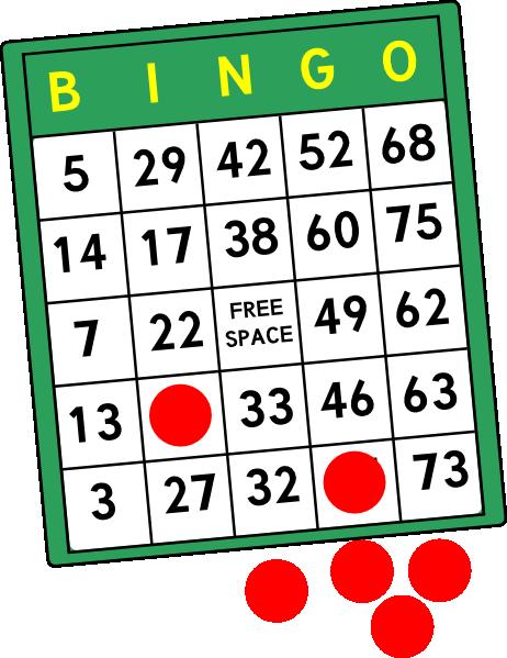 Free bingo clipart 2
