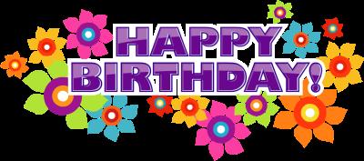 free birthday clipart. Animat - Happy Birthday Clip Art