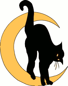 Free Black Cat Clipart