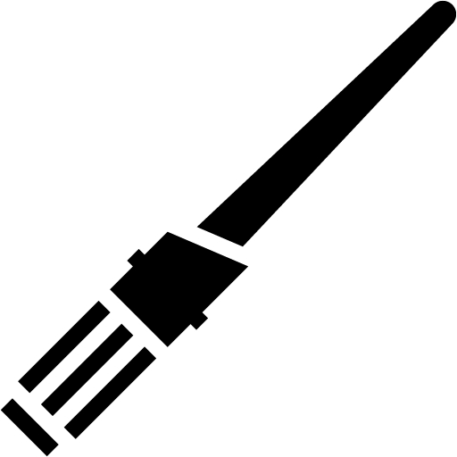Free Black Lightsaber 2 Icon Download Clipart
