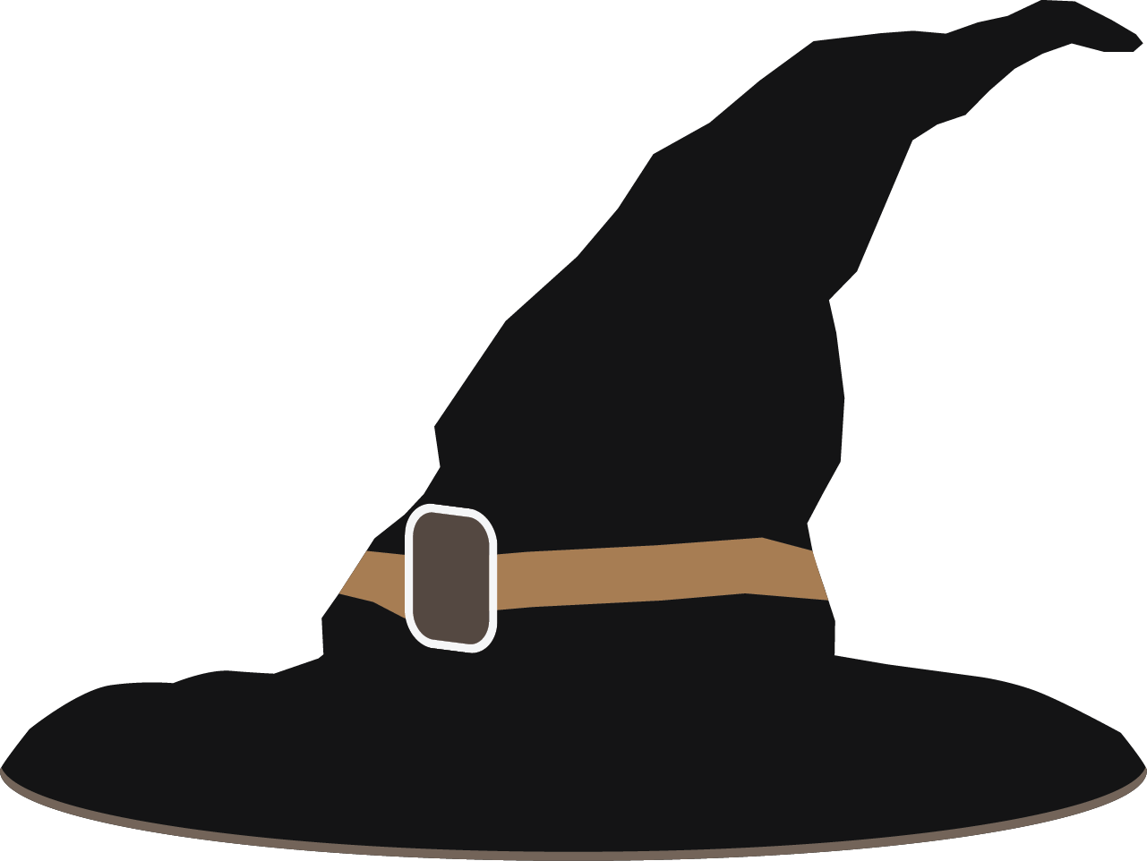 Free Black Witch Hat Clip Art
