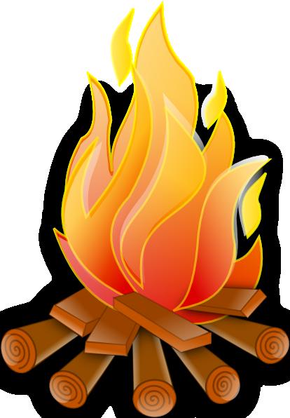 Free Bonfire Clip Art