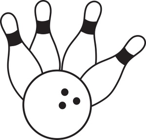 free bowling clipart